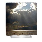 Strait Of Messina II Shower Curtain