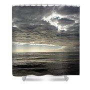 Straits Of Magellan I Shower Curtain