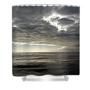 Straits Of Magellan I Shower Curtain