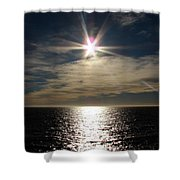 straits of magellan II Shower Curtain