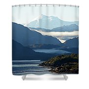 Straits Of Magellan Vii Shower Curtain
