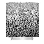 Strand #7 - Beach #7 Shower Curtain