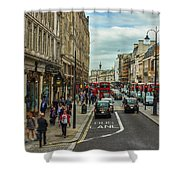 Strand Street, London. Shower Curtain