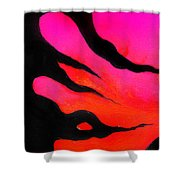 Strange Abstract Mood Shower Curtain