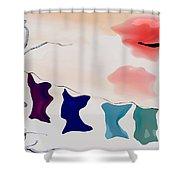 Strange Afternoon Shower Curtain