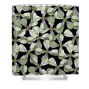 Strange Flower Shower Curtain