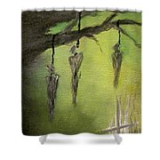 Strange Fruit Shower Curtain by Alys Caviness-Gober