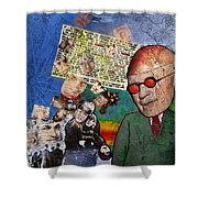 Strange How These Mortals So Loudly Complain Of The Gods Shower Curtain