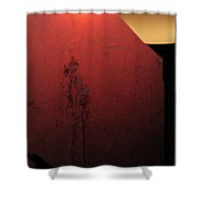 Strange Sunrise Out There Shower Curtain