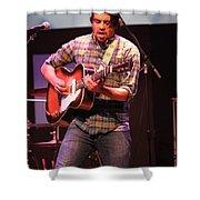 Strange Vine Guitarist Toby Cordova Shower Curtain