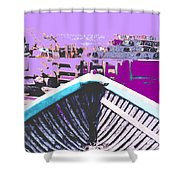 Strange Voyage Shower Curtain