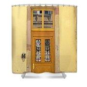 Strasbourg Door 03 Shower Curtain