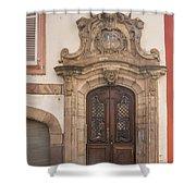 Strasbourg Door 09 Shower Curtain