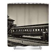 Strasburg Rail Road Shower Curtain