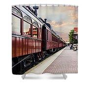 Strasburg Railroad Shower Curtain