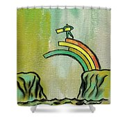 Strategy For Success Shower Curtain