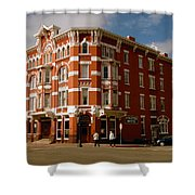 Strater Hotel 1887 Shower Curtain