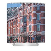 Strater Hotel Shower Curtain by Jason Coward