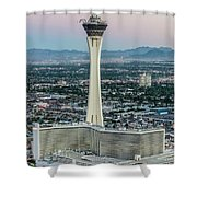 Stratosphere Casino Hotel And Tower Shower Curtain