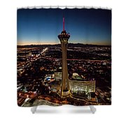 Stratosphere Casino Hotel  Shower Curtain