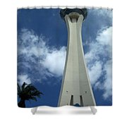 Stratosphere Tower Shower Curtain