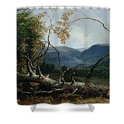 Stratton Notch - Vermont Shower Curtain