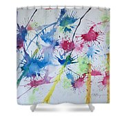 Straw Blown Shower Curtain