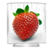 Strawberries 03 Shower Curtain