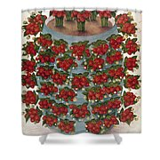 Strawberries, 1889 Shower Curtain