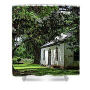 Strawberry Chapel Of Ease Shower Curtain