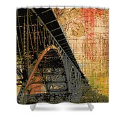 Strawberry Mansion Bridge Philadelphia Pa Shower Curtain