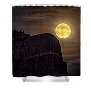Strawberry Moon 2018 Shower Curtain