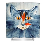 Stray Cat Shower Curtain