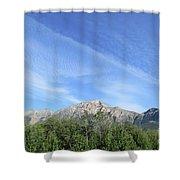 Streaked Sky Shower Curtain