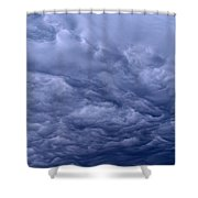 Streaks In The Clouds Shower Curtain