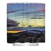 Streaks Of Light Shower Curtain