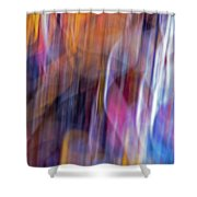 Streaks Of Thread Shower Curtain