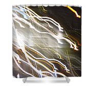 Streaming Abstract Shower Curtain