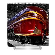 Streamlined For Speed Shower Curtain