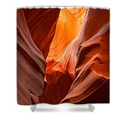 Streams Of Light Shower Curtain