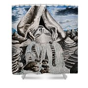 Streams Of Thought Shower Curtain