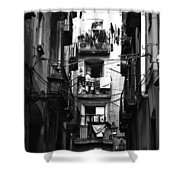 Street 1 Shower Curtain