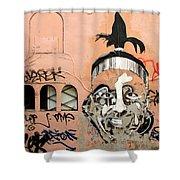 Street Art 1 Shower Curtain