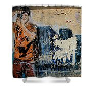 Street Art 3 Shower Curtain