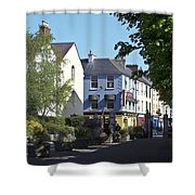 Street Corner In Tralee Ireland Shower Curtain
