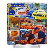 Street Food 5 Shower Curtain