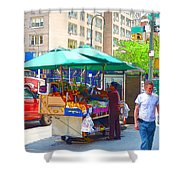 Street Food  7 Shower Curtain