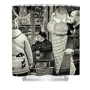 Street Ice Cream Shower Curtain