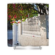 Street In Key West Shower Curtain