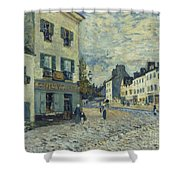 Street In Marly Shower Curtain